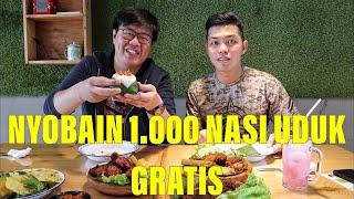 Video RESTORAN INI BAGI-BAGI 1.000 PIRING NASI UDUK GRATIS!!! MP3, 3GP, MP4, WEBM, AVI, FLV Januari 2019