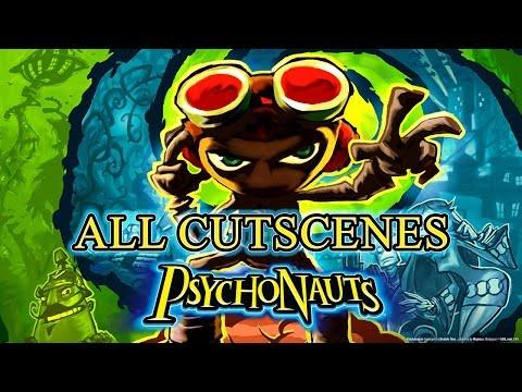 Psychonauts - All Cutscenes Movie (1080p)