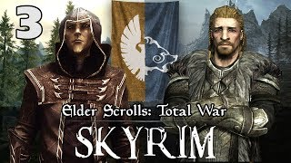 ULFRIC MARCHES SOUTH - Elder Scrolls: Total War - Skyrim Campaign #3 - Welcome back to the Elder Scrolls Campaign. The people have voted and now Ulfric marches south to save the Empire. Meanwhile the fleet is still headed to Summerset Isle.  Enjoy the Episode :D Mod link: http://www.moddb.com/mods/the-elder-scrolls-total-warUnofficial Patch: http://www.twcenter.net/forums/showthread.php?750685-Sub-mod-Unofficial-TES-Patch-1-3-DOWNLOAD-LINKSkyrim Submod: http://www.moddb.com/mods/4th-era-submod-testw/addons/kingdom-of-skyrim-retexture-10 JOIN MY DISCORD SERVER: https://discord.gg/JjR7UR3If you enjoyed the video don't forget to Like and Leave a comment :D-----------------------------------------PA Merchandise---------------------------------------------BUYING A SHIRT WILL SUPPORT A CHARITY!Represent the Knight's of Apollo!Buy a T-shirt Here: https://teespring.com/stores/pixelated-apollo----------------------------------How You Can Support Me! ------------------------------------ Like, share and leave a comment :D- Turn OFF adblock or whitelist my channel- Send me a GREAT battle Replay: pixelatedapollo@gmail.com- Purchase a Server at: https://oasis-hosting.net/ and use this discount code - PA2017 ------------------------------------------Connect With Me!------------------------------------------ Email: pixelatedapollo@gmail.com- Twitter: https://twitter.com/PixelatedApollo- Steam Group:  http://steamcommunity.com/groups/apollosknights- Twitch: http://www.twitch.tv/pixelatedapollo