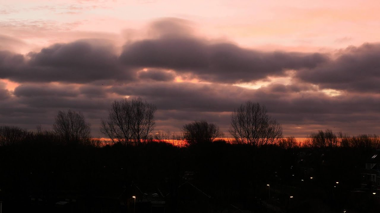 Timelapse Sunset 26-12-2015