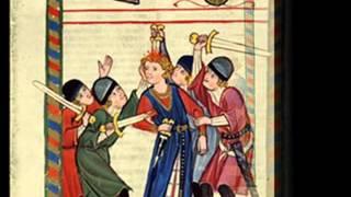 Napoli Aragonese - Fate d'arera e non t'aostar in zà - Ballata. Canzona calavresa. - Ensemble Micrologus. - ***Codex Manesse.