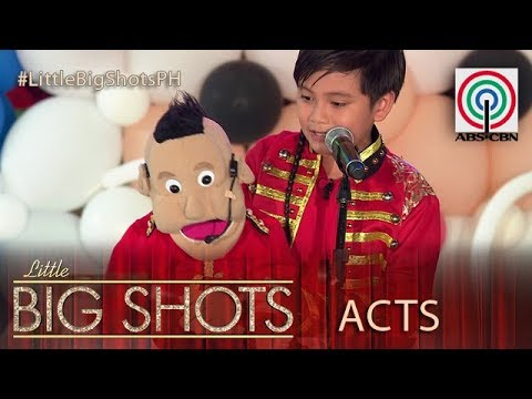 Little Big Shots Philippines Christmas Party: Dwayne | 10-year-old Ventriloquist