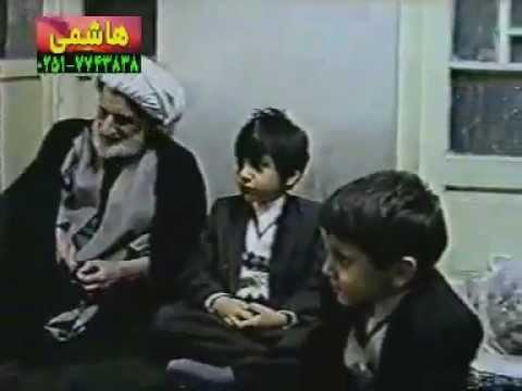 Ayatullah Behjat with Hussain Tabatabai with good nauha
