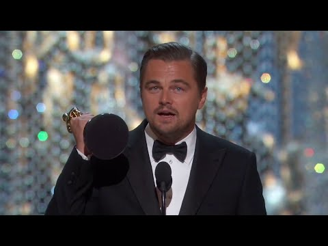 Kterak se Leo nakonec dočkal - Leonardo DiCaprio The Oscars 2016