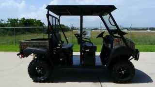 5. $14,999 Accessorized 2013 Kawasaki Mule 4010 Trans 4X4 Camo Lift, Stereo,Top, Windshield, 26