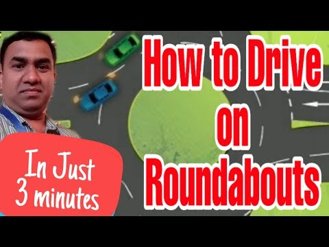How to Drive on Roundabouts | Dubai Driving Tips | Roundabout Basics