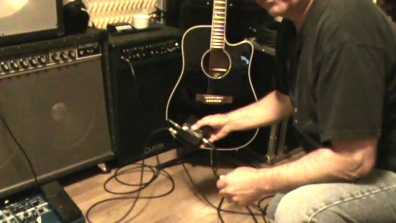 Using a DI Box for Acoustic Guitars – AudioTech