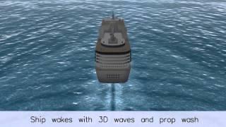 Triton Ocean & 3D Water SDK Demo, 2013.3