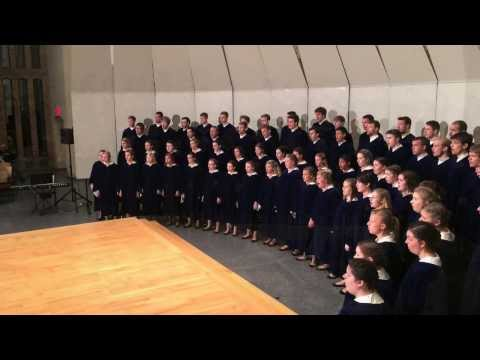 The Concordia Choir -Agnus Dei - René Clausen