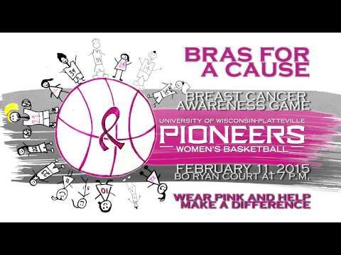 "UW-Platteville Women's Basketball ""Bras for a Cause"" game"