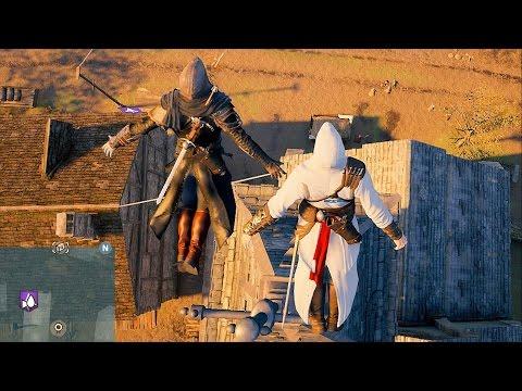 Assassin's Creed Unity CO OP Fun , Free Roam & Teamwork
