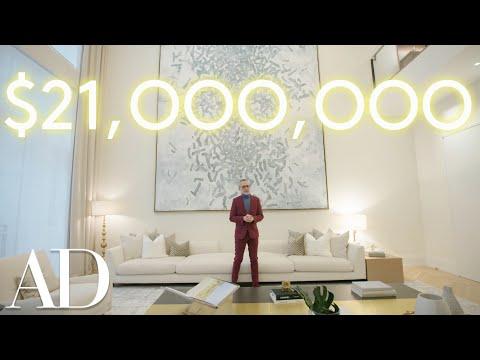 Download Inside a Massive $21M NYC Townhouse | Architectural Digest HD Mp4 3GP Video and MP3