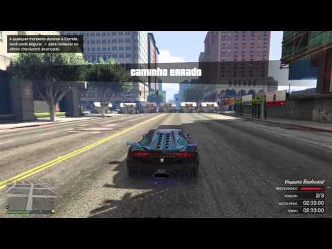 GTA V ONLINE Corridas impossveis #6