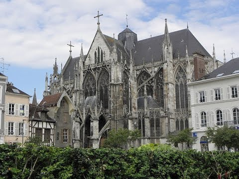 Places to see in ( Troyes - France ) Basilique Saint Urbain