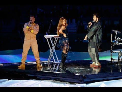 Shakira, Camilo & Pedro Capó - Ensayos Tutu (Davis Cup)