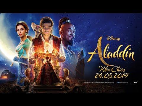 ALADDIN - Trailer chính thức - Khởi chiếu ngày 24.05.2019 - Thời lượng: 2 phút, 17 giây.