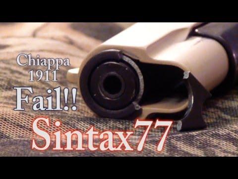 So My Gun Blew Up…  Chiappa 1911-22 Fail