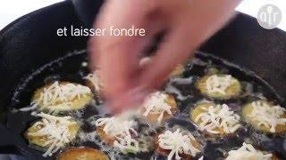 Beignets de courgette au parmesan
