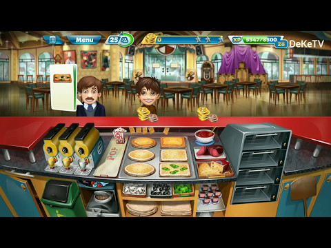 Cooking Fever - Level 34 Pizzeria Restaurant Android GamePlay