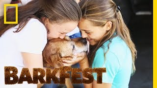 The Love of Dogs Has No Age Limit | BarkFest by Nat Geo WILD