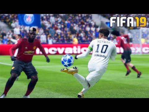 FIFA 19 | MANCHESTER UNITED VS PSG | UEFA Champions League | Gameplay PC