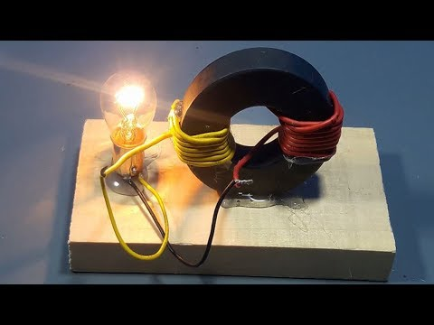 How to make Free Energy Generator Magnet Coil 100% Real | science projects (видео)