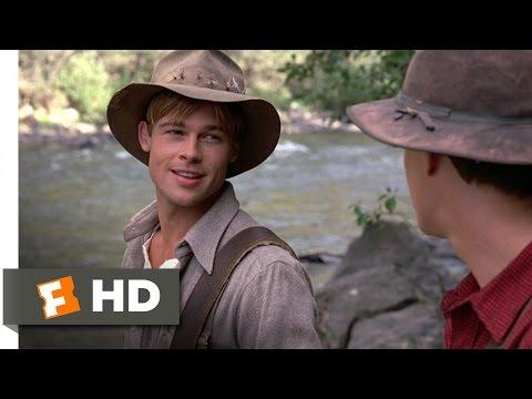 A River Runs Through It (5/8) Movie CLIP - I'll Never Leave Montana (1992) HD