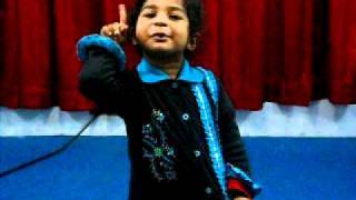 Children Christmas Urdu Song By Jessica Ameer FGA Church Sheikhupura