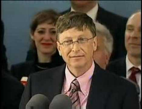 speech - Video of Bill Gates Speech at Harvard.
