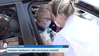 Bauru: começa a aplicação da segunda dose da vacinação em idosos