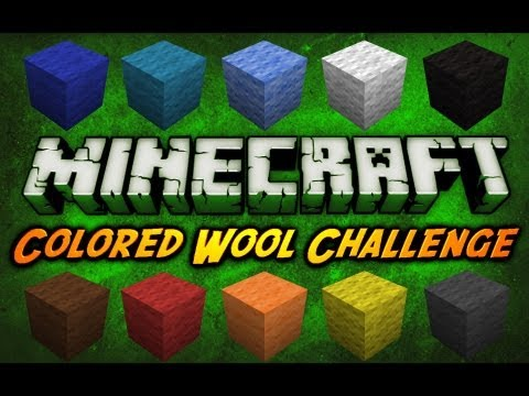 how to get colored wool in minecraft