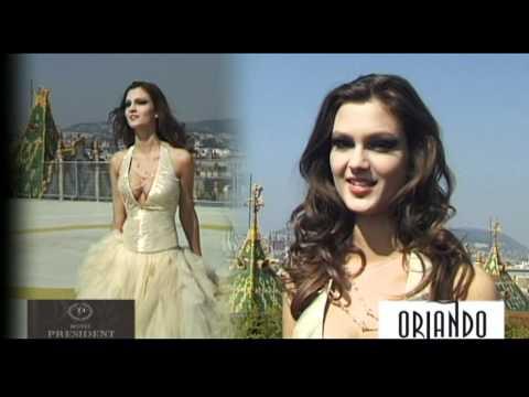 Barta Zsanett, a Miss Alpok Adria nemzetközi királynője