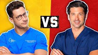 Video Real Doctor vs TV Doctor | Medical Drama Myths | Doctor Mike MP3, 3GP, MP4, WEBM, AVI, FLV April 2018