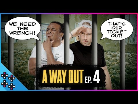 We'll Make The GREAT ESCAPE!  A Way Out #4 - UpUpDownDown Plays