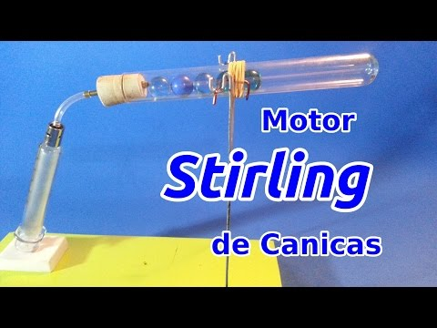 Motor Stirling De Canicas