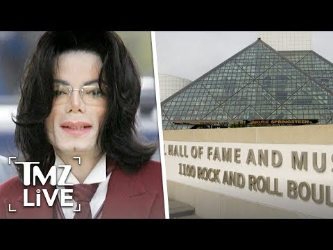MJ To Stay In Rock & Roll Hall Of Fame | TMZ Live