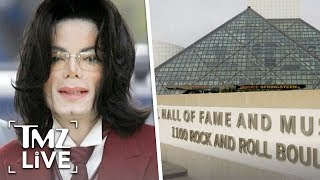 MJ To Stay In Rock & Roll Hall Of Fame   TMZ Live
