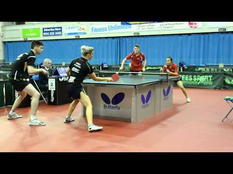 English Nationals 2013-14: Mixed Doubles Final, part one