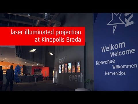 Kinepolis Breda delivers ultimate cinema experience with laser-illuminated projection
