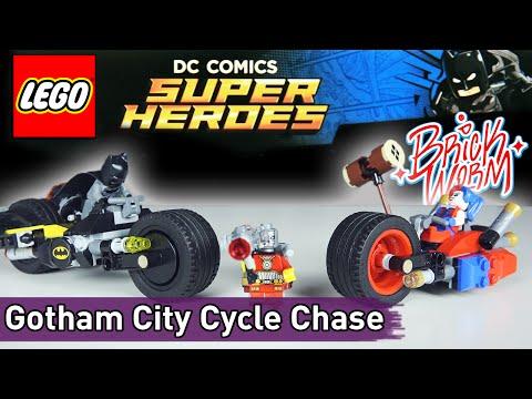 LEGO DC: Gotham City Cycle Chase (76053) - Brickworm