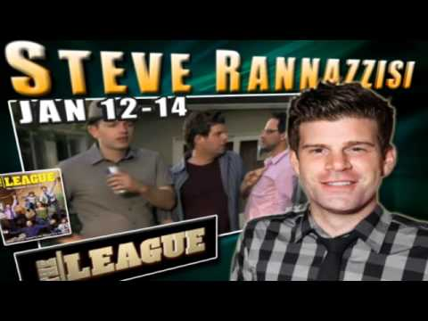 Comedians Steve Rannazzisi, Greg Proops