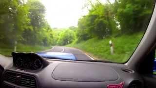 Gyor Hungary  city photos : Subaru Impreza STi Győr Hungary @Csesznek