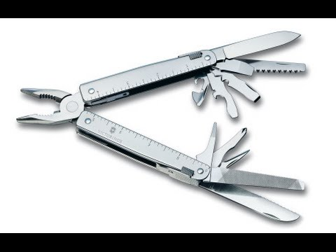 Victorinox Swiss Tool - The Best Multi-Tool - in 4k