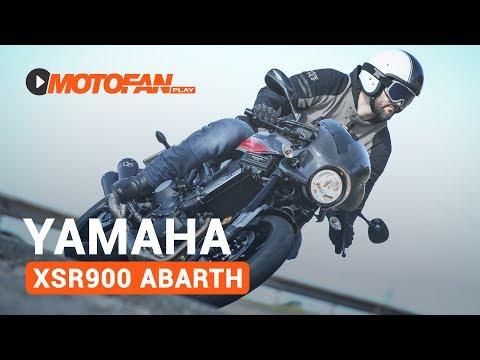 Vídeos de la Yamaha XSR900 Abarth de 2017