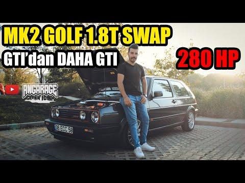 Mk2 Golf 1.8t Swap   Gti'dan Daha Gti   İNCELEME   ANGARAGE
