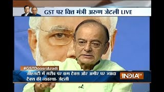 Download Video GST Conclave: Editor-In-Chief Rajat Sharma and FM Arun Jaitley take the stage for GST Doosri Azadi MP3 3GP MP4