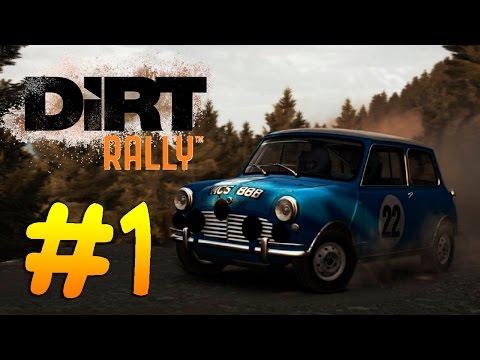 Dirt Rally┃ХАРДКОР ДЛЯ НАСТОЯЩИХ ЗАДРОТОВ┃ #1