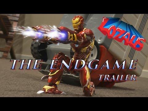IRONMAN Stop Motion Action Video Part 9 ENDGAME Trailer