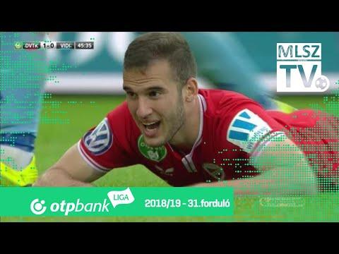 31. forduló: DVTK - Vidi 2-1 (1-0)