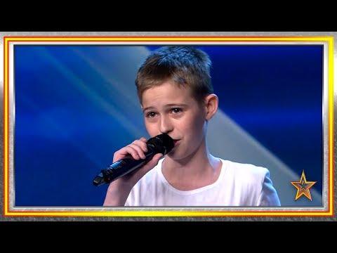 ¡Dale UNA PALABRA y este niño te RAPEA una canción! | Audiciones 8 | Got Talent España 2019